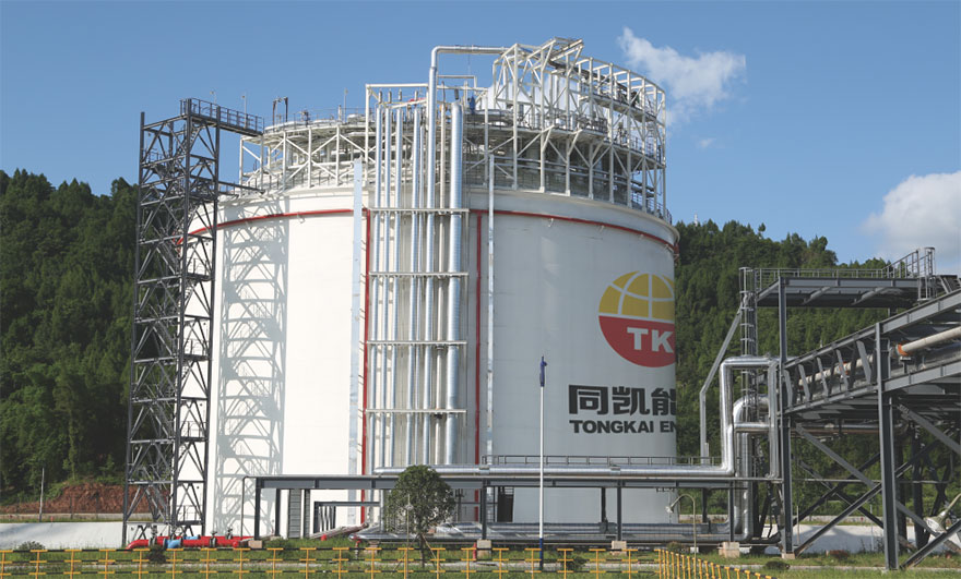 Tongkai Energy·Natural Gas Project in Bazhong