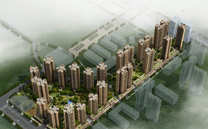 Sichuan Provincial authorities  construction center. Minxinshilinfu